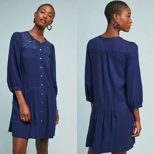 Anthropologie Dubois Embroidered Tunic Dress 2